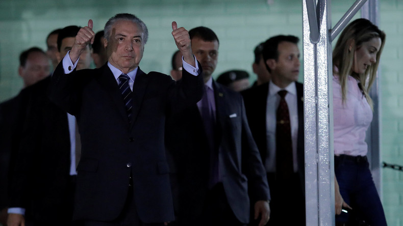 Brasiliens Parlament setzt sich erneut für Staatschef Temer ein – Ermittlungen blockiert