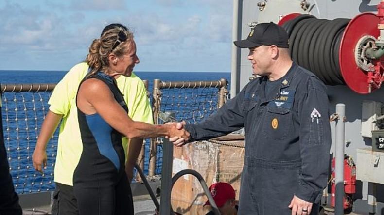Zwei Seglerinnen aus USA nach fünf Monaten im Pazifik von der US-Marine gerettet