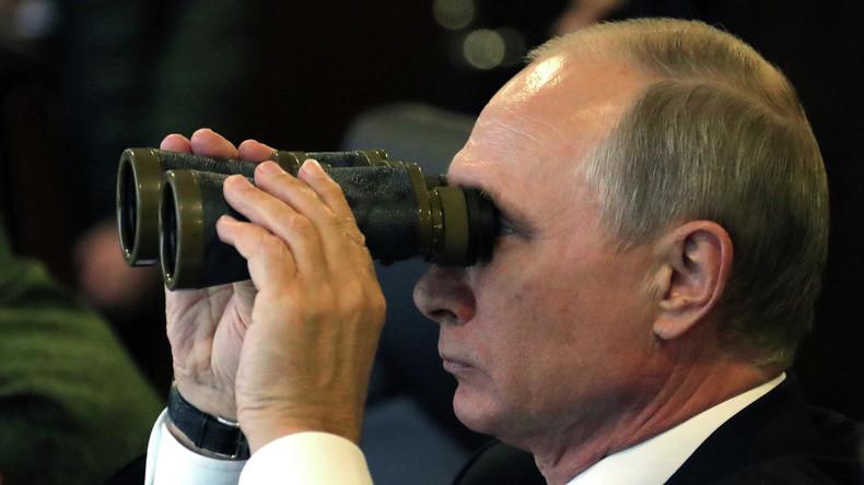 Putin gibt bei Übungen Befehl zum Abschuss von vier Interkontinentalraketen