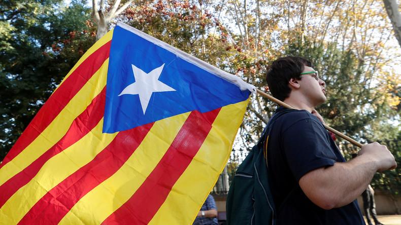 Live: Demonstration für die Unabhängigkeit in Barcelona