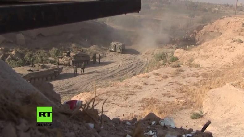 Syrien: Armee gewinnt Insel bei Deir ez-Zor vom IS zurück