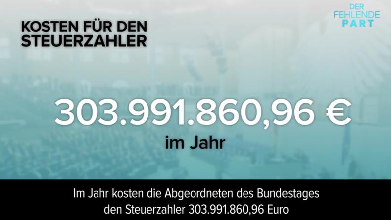 Soviel kostet der neue Bundestag