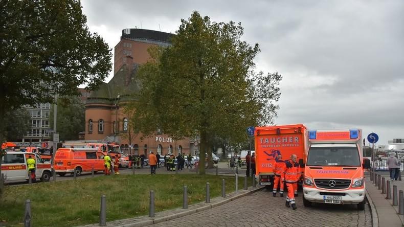 Mysterium am Hamburger Hafen: Kameramann bei Dreharbeiten verschwunden