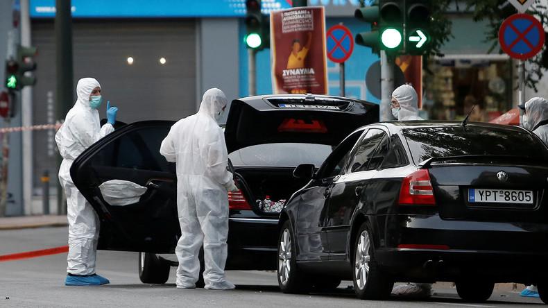 Paketbombe an Wolfgang Schäuble: Griechische Polizei nimmt Verdächtigen fest