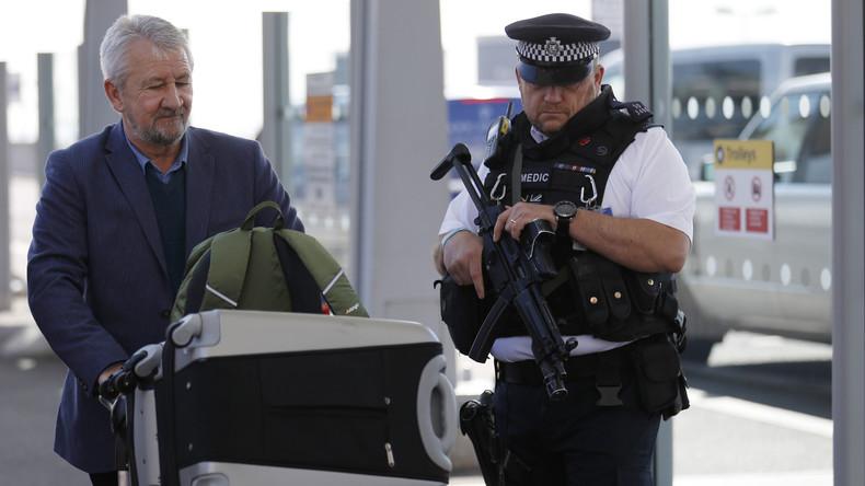 Arbeitsloser findet Sicherheitsdaten zu Londoner Flughafen