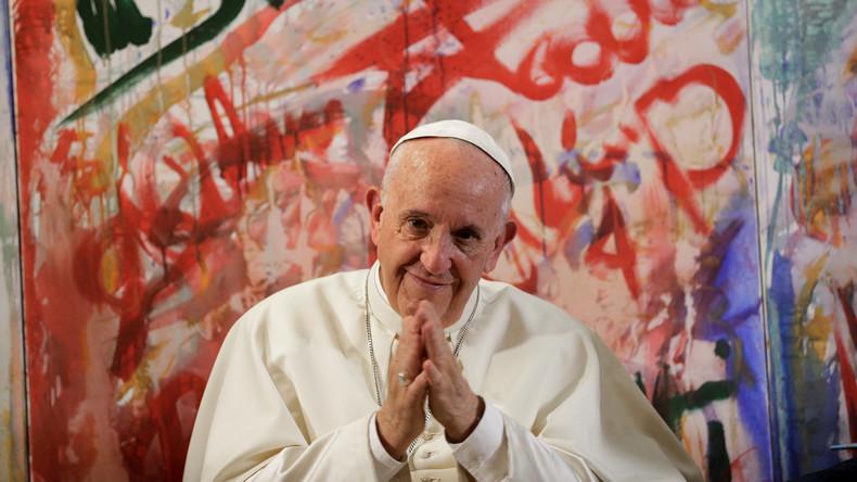 Papst ruft Europa zu Einheit und Dialog auf