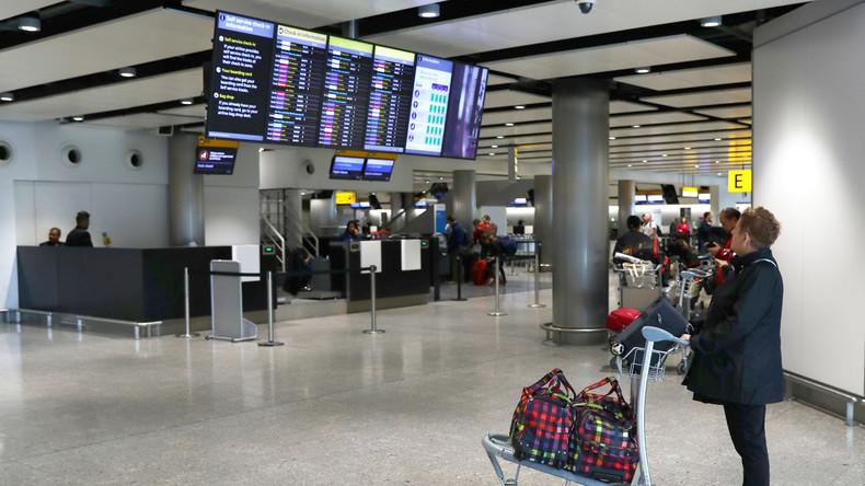 USB-Stick mit geheimen Daten des Flughafens Heathrow auf der Straße gefunden