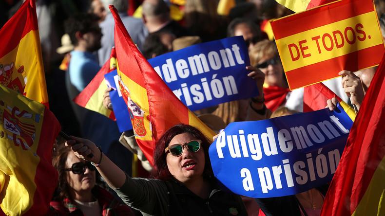 Causa Katalonien: Staatsanwaltschaft erhebt Anklage gegen Puigdemont und seine Minister