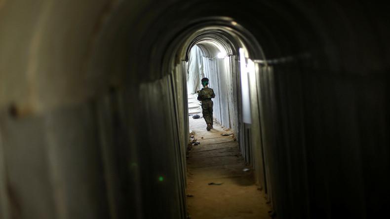 Israelische Armee vernichtet Tunnelsystem im Gazastreifen