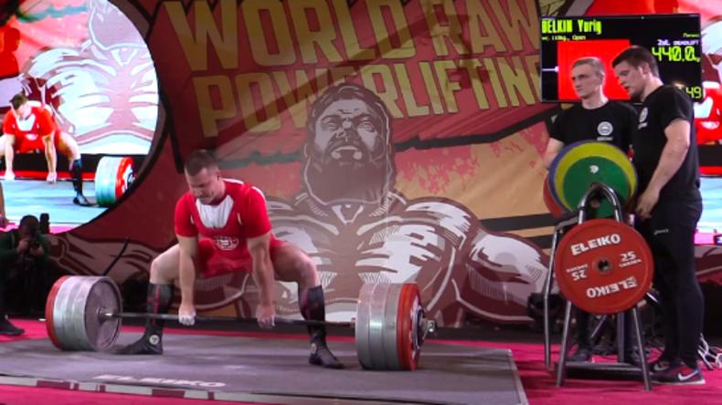 Russischer Powerlifter hebt 440 Kilogramm - Weltrekord [Mit Video]