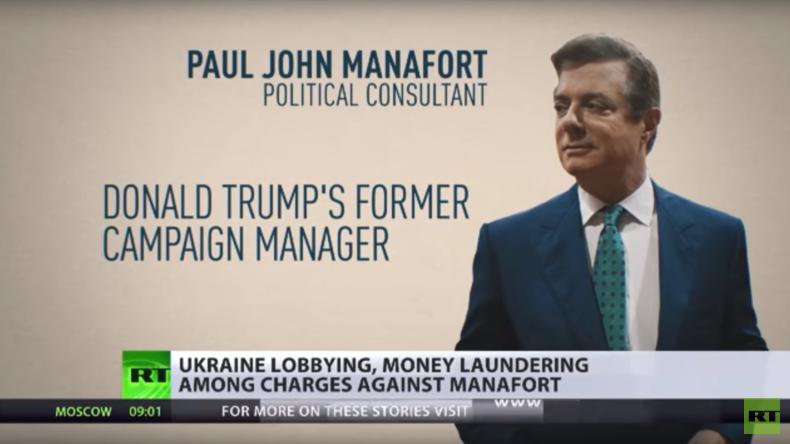 Anklagen gegen Paul Manafort haben nichts mit Trump oder Russland zu tun