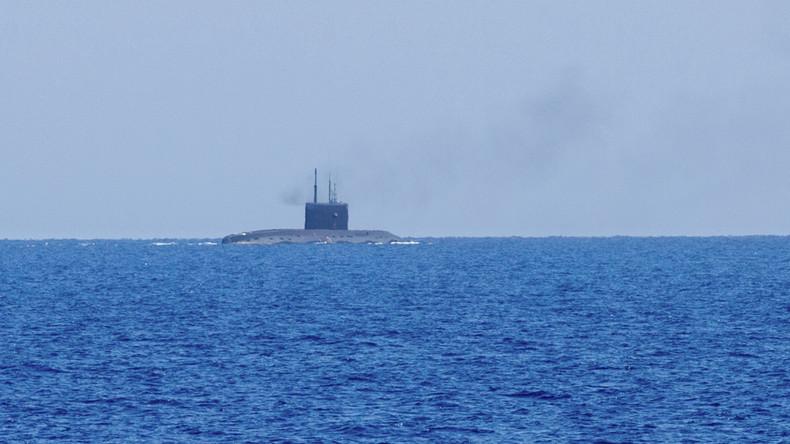 Russisches U-Boot beschießt IS-Kommando in Syrien