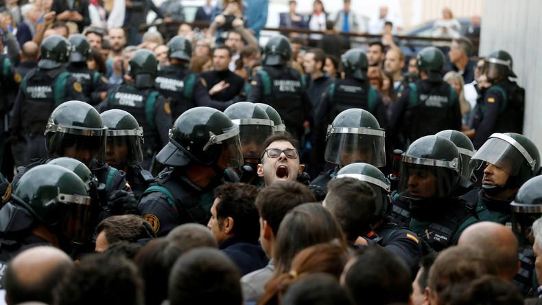 Nächste Eskalationsstufe: Madrid entsendet Soldaten nach Katalonien