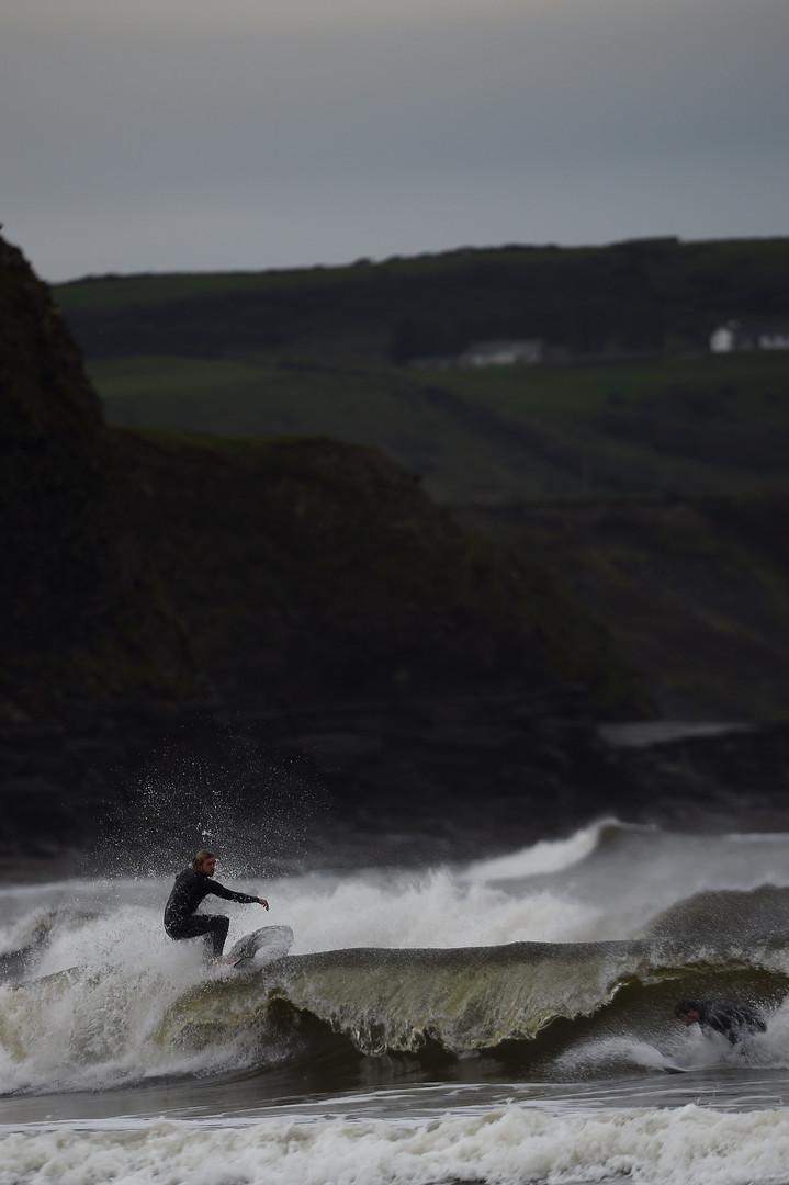 Heftigster Sturm seit 50 Jahren - Ex-Hurrikan Ophelia erreicht Irland [FOTOS]