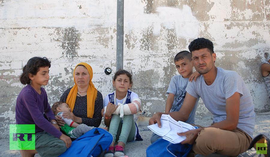 Lesbos: Horror-Zustände im Flüchtlingslager Moria - Fünfjähriges Mädchen stirbt in ungeheiztem Zelt