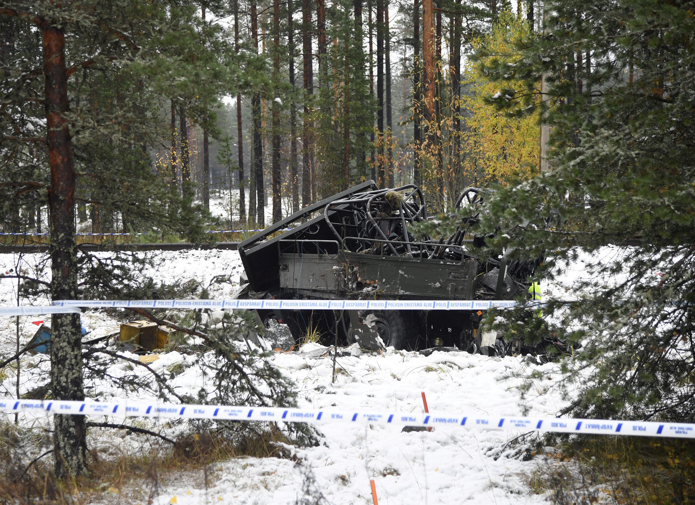 Finnland: Zug kollidiert mit Militärfahrzeug – Vier Tote