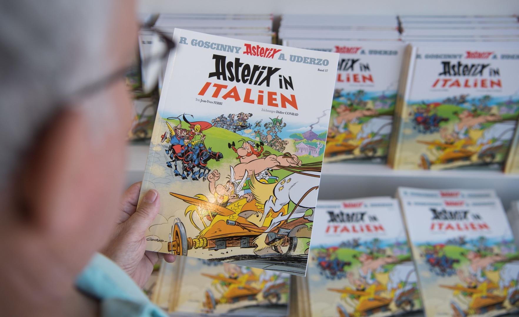 Opfer politischer Korrektheit? Neueste Asterix-Ausgabe ohne Karte des widerspenstigen Gallier-Dorfes