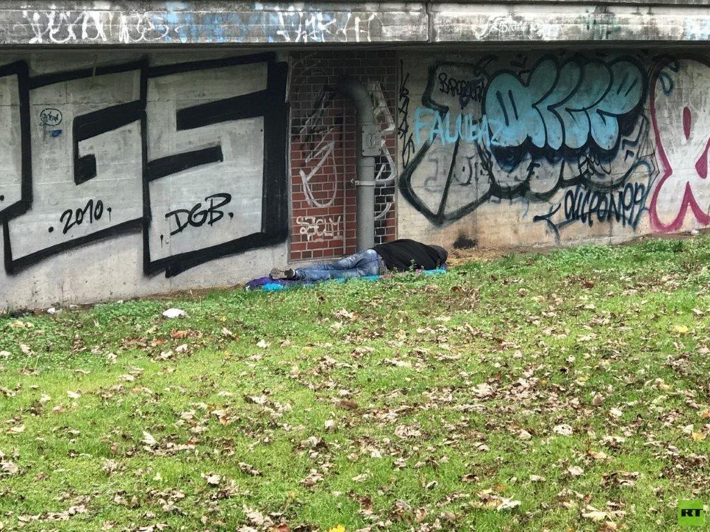 Streit um Obdachlosen-Camp: Polizei räumt illegales Zeltlager im Berliner Tiergarten