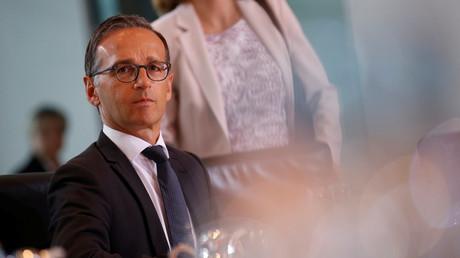 Heiko Maas während einer Kabinettssitzung in Berlin, Deutschland, 16. August 2017