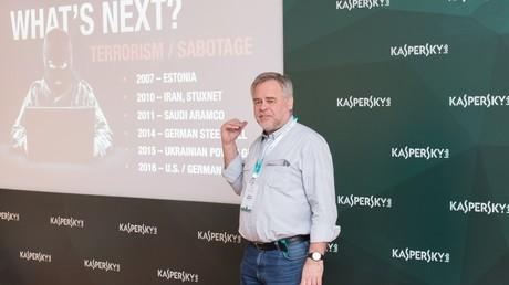 Der Gründer des Softwareunternehmens Kaspersky, Jewgeni Kaspersky.