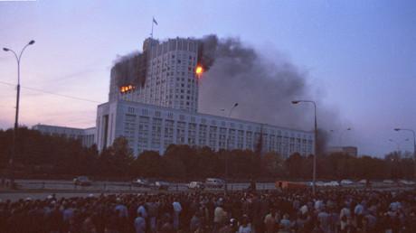Im Oktober 1993 war das Weiße Haus in Moskau, Sitz des russischen Parlaments, Schauplatz einer Auseinandersetzung, die das weitere Schicksal Russlands bestimmte.