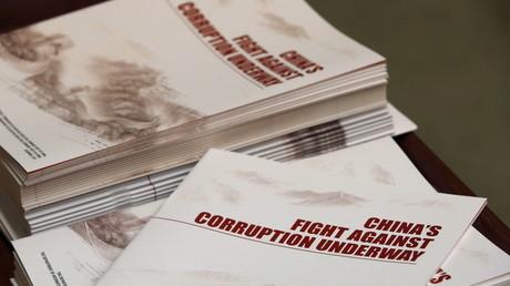 China bestraft in fünf Jahren 1,3 Millionen korrupte Beamte und Politiker