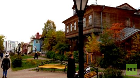 Die Stadt Archangelsk ist keine Perle der Architektur. Aber hier finden sich alle Baustile, welche die russische Geschichte prägten, darunter auch die berühmten Holzkonstruktionen.