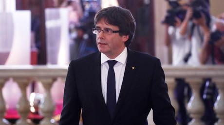 Er erklärte Katalonien heute Abend für unabhängig: Carles Puigdemont