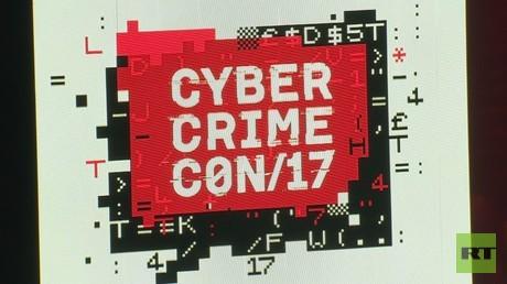 Cyber Crime Con, Moskau, Russland, 10. Oktober 2017.
