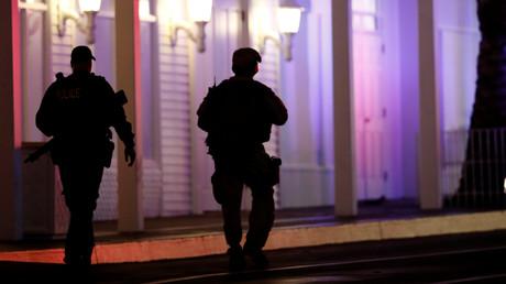 Ebenso wie diese beiden Polizisten in Las Vegas bleiben viele der Todesfälle in den USA im Dunkeln, die auf Polizeieinsätze zurückgehen.