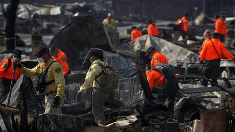 Verheerende Buschbrände in Kalifornien fordern mindestens 35 Menschenleben