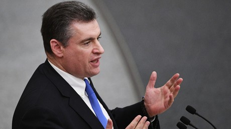 Leonid Sluzki, der Vorsitzende des Auswärtigen Ausschusses der Staatsduma
