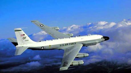 Amerikanisches Aufklärungsflugzeug RC-135