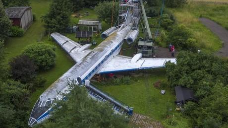 Nach Jahrzehnten in Privatgarten: Stasi-Jet geht ins Museum