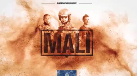 Screenshot aus dem Trailer für die Bundeswehr-Youtube-Serie Mali