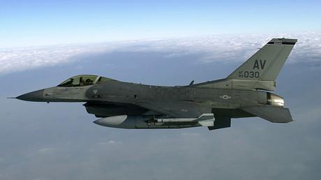 F-16 Falcon-Bomber (Symbolbild)