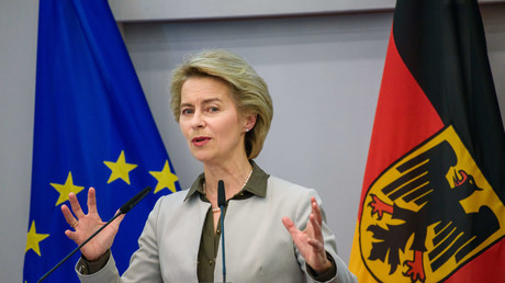 Bundesverteidigungsministerin Ursula von der Leyen (CDU) auf dem Festakt zum 25-jährigen Jubiläum der Bundesakademie für Sicherheitspolitik