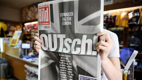 Bild-Zeitung Berlin, Deutschland, 25. Juni 2016