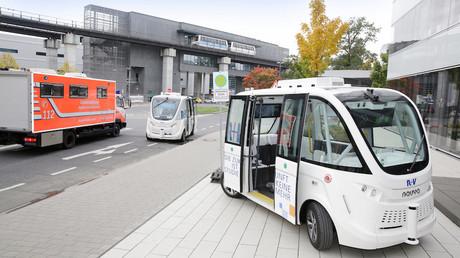 Frankfurter Flughafen demnächst mit selbstfahrenden Shuttles ausgerüstet