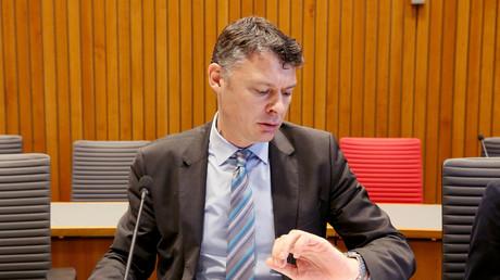 Jörg Geerlings (CDU), Vorsitzender des Amri-Untersuchungssauschuss in NRW