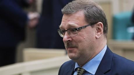 Konstantin Kosachew, der Vorsitzende des außenpolitischen Ausschusses des russischen Föderationsrates.