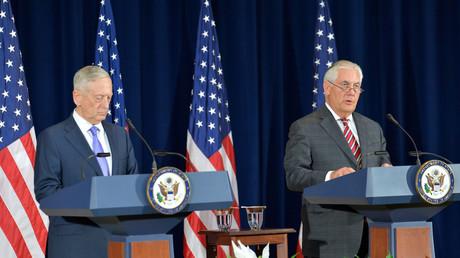 US-Verteidigungsminister James Mattis und Außenminister Rex Tillerson kommen am 30. Oktober zusammen, um die Befugnisse für das US-Militär in Afrika zu erweitern. (Symbolbild)