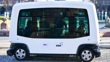Pilotprojekt: Erster autonomer Elektro-Bus in Bayern eingesetzt