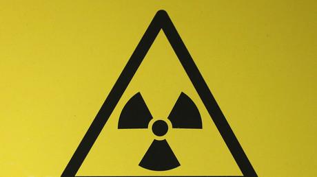 Zeichen für Radioaktivität