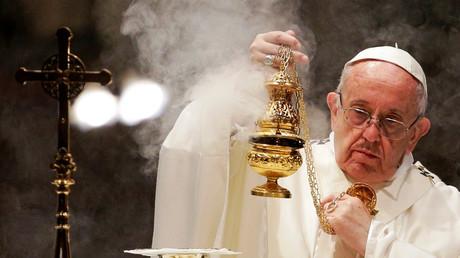 Papst Franziskus in Rom, Italien, 12. Oktober 2017.