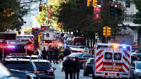 Der Tatort in Manhattan wurde großräumig abgeriegelt.