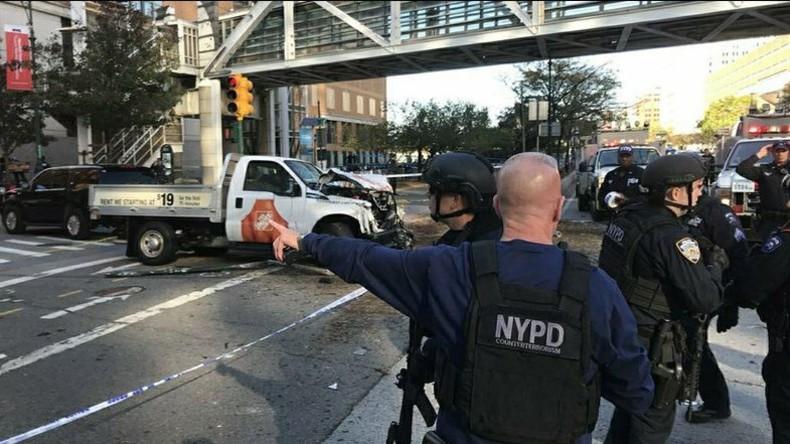 Ergebnis von US-Interventionen? New Yorks Bürgermeister: LKW-Angreifer verübte Terroranschlag