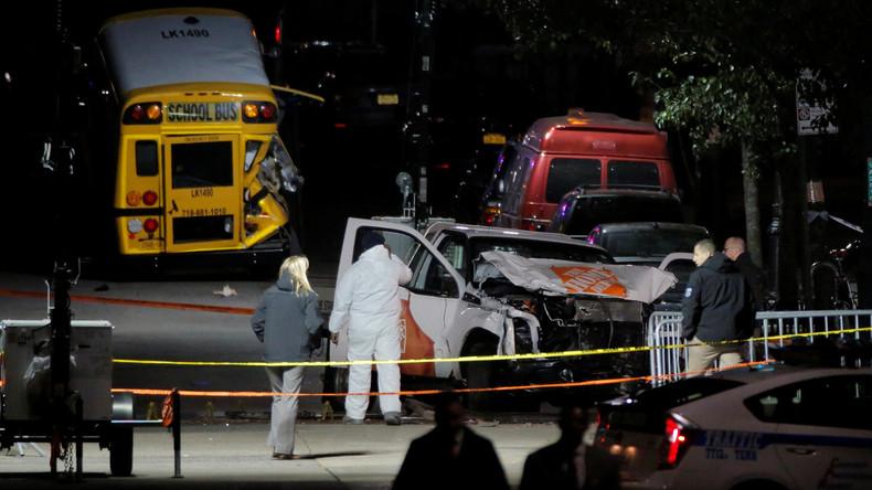 Terroranschlag in New York an Halloween mit acht Toten [Video]