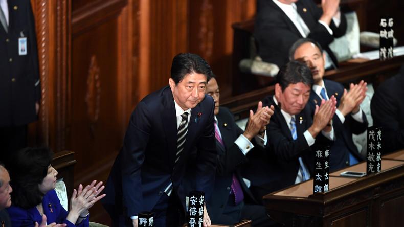 Shinzō Abe zum vierten Mal zum japanischen Premierminister gewählt