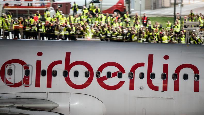 Amtsgericht startet Insolvenzverfahren für Air Berlin